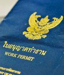 Work Permit application in Thailand