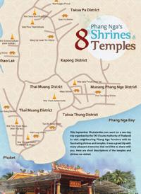 Phang Nga's 8 Shrines & 8 Temples