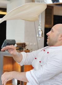 Two-Time Pizza Acrobatics World Champion at JW Marriott
