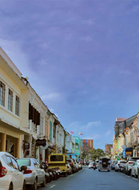 Sightseeing in Phuket Old Town