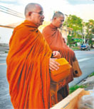 The Ancient Tradition of Morning Alms-giving