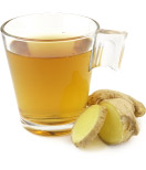 Ginger water to help  relieve wrist pain