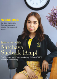Interview with Natchaya Suebsak (Amp)